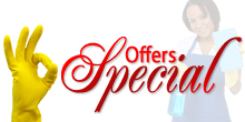 Special Offers at FastKlean Cleaning Company