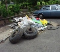More rubbish being fly-tipped after domestic cleaning