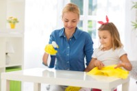 Make children your cleaning allies, not enemies
