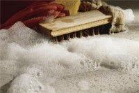 Low price brushes for floor cleaning machines