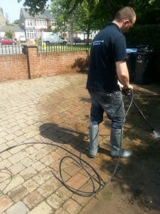 Driveway Patio Cleaning