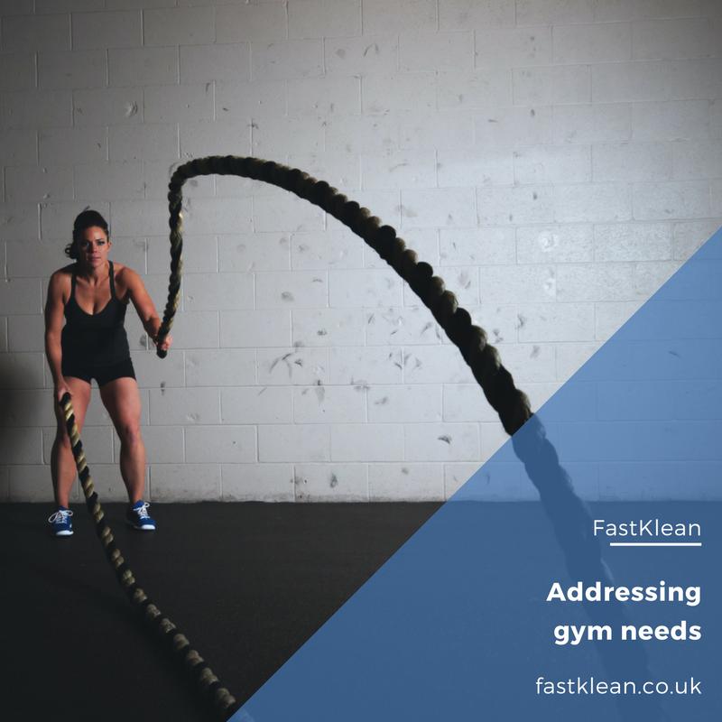Addressing gym needs