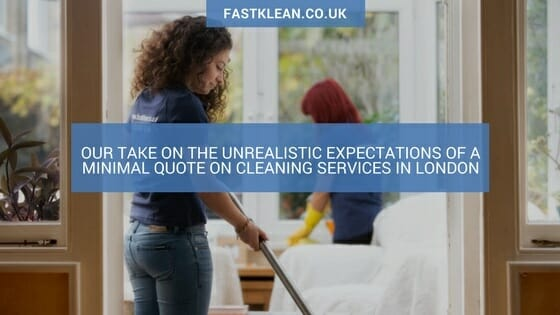 FastKlean Cleaning Services London