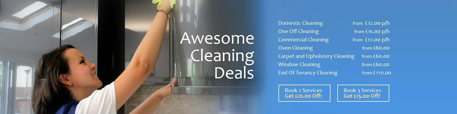 Cleaning Deals New
