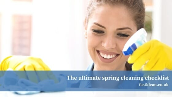 The ultimate spring cleaning checklist + Infographic