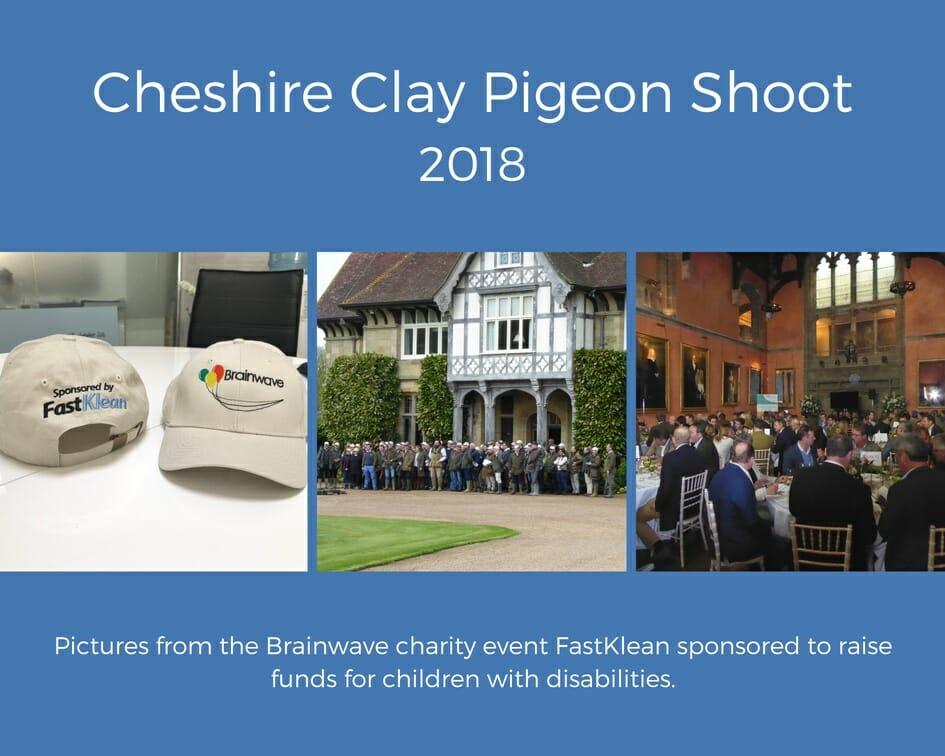 Cheshire Clay Pigeon Shoot Fastklean Charity Event