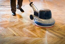 Floor sanding, restoration, fitting and polishing services