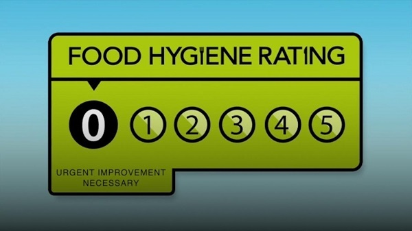 Zero Hygiene Ratings for Takeaways