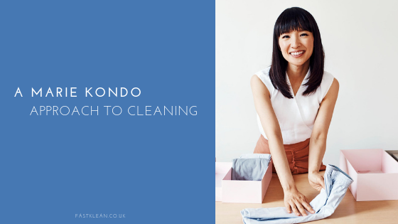 A Marie Kondo Approach To Cleaning