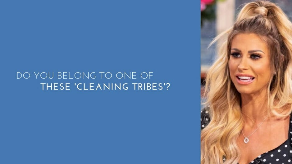 Do you belong to one of these 'cleaning tribes'?