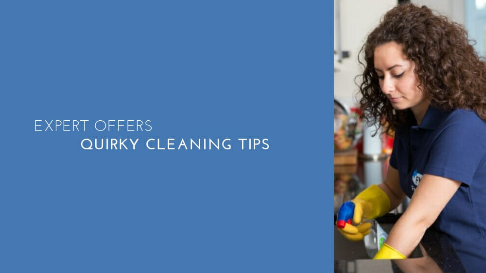 Expert offers quirky cleaning tips