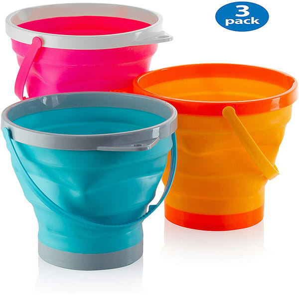 Foldable Bucket Pack Of 3