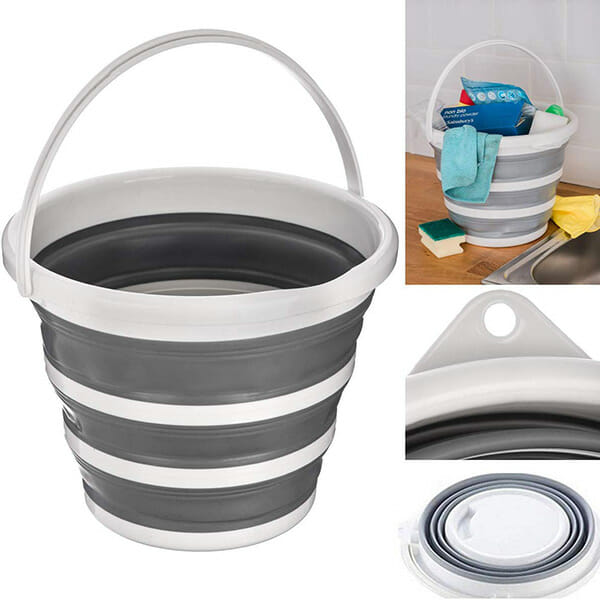 Foldable Round Bucket
