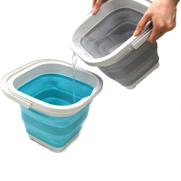 Foldable Square Bucket