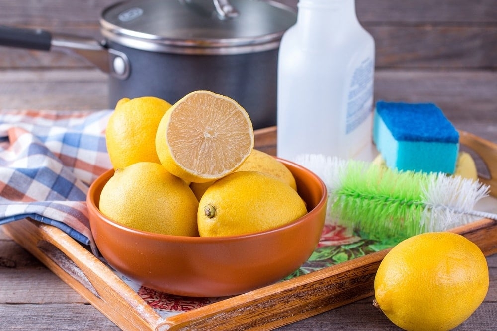 Oven Cleaning Lemon Juice