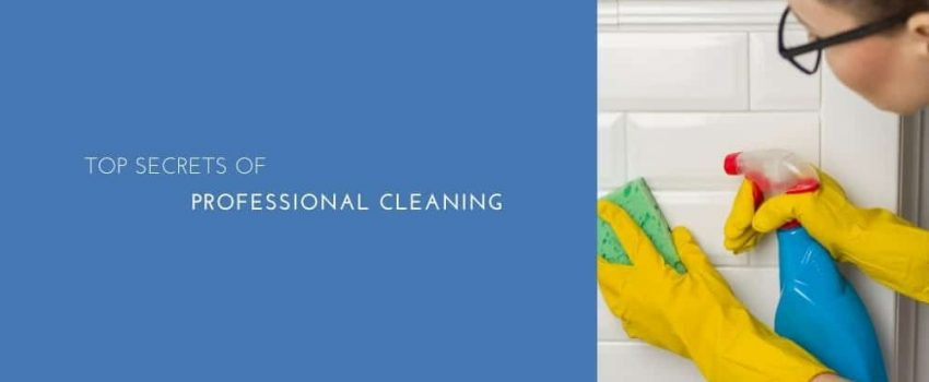 Top Secrets Of Professional Cleaning