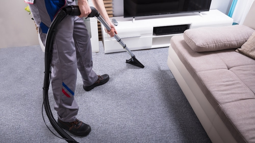 Vacuum Living Room