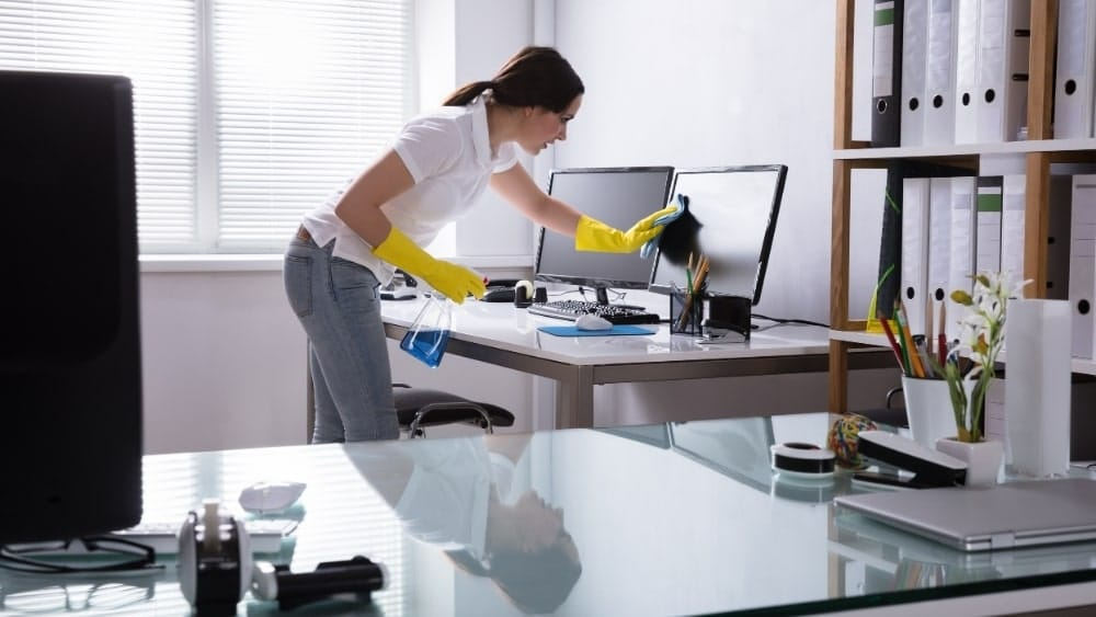 Diy Office Cleaning