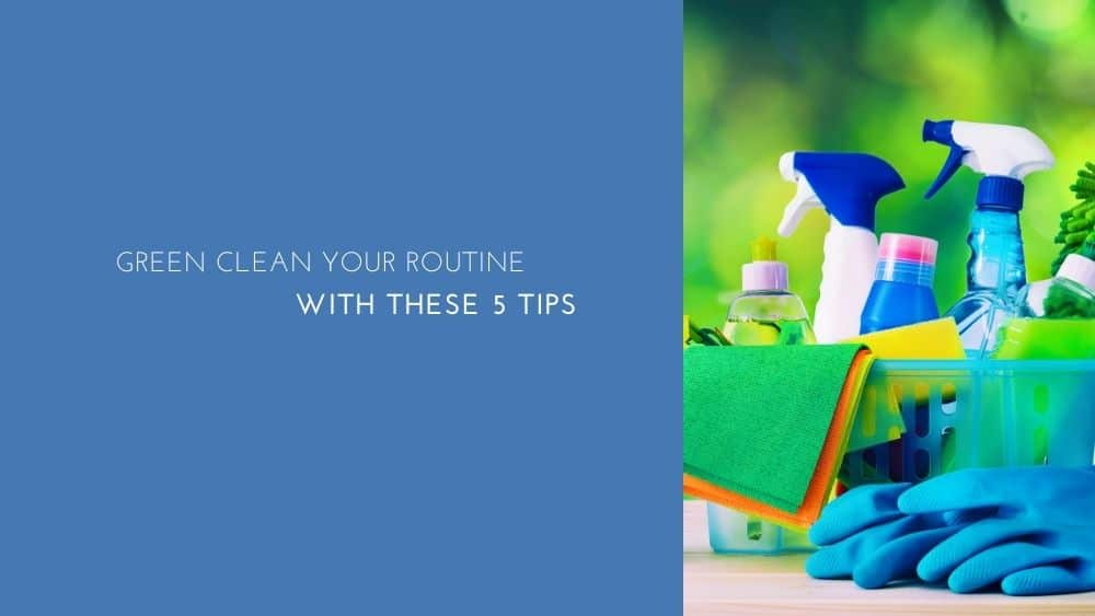 Green clean your routine with these 5 tips