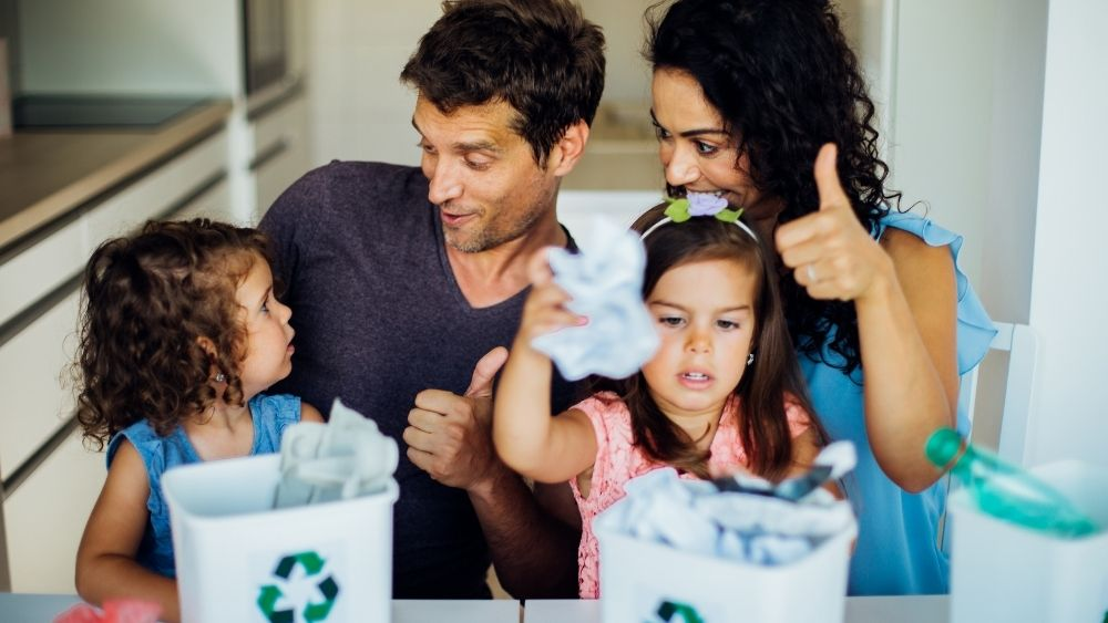 Recycling - Eco-Friendly tips for your children