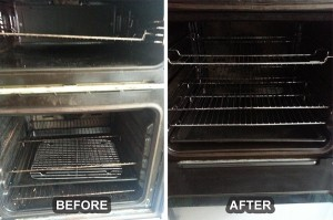 Oven Cleaning Before/After 6