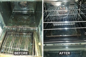Oven Cleaning Before/After 5