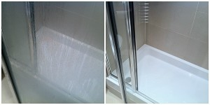 Bathroom Cleaning Before/After